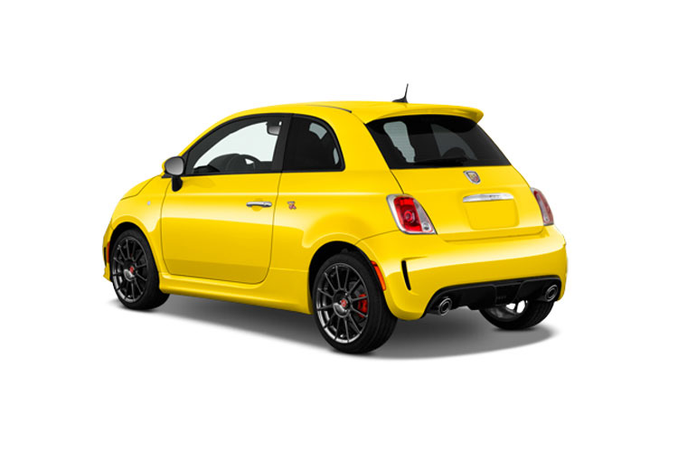 Abarth 595 Hatch 3Dr 1.4 T-Jet 145PS  3Dr Manual back view
