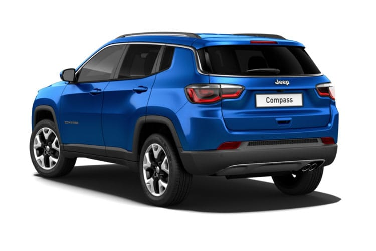 Jeep Compass SUV FWD 1.4 T MultiAirII 140PS Night Eagle 5Dr Manual [Start Stop] back view