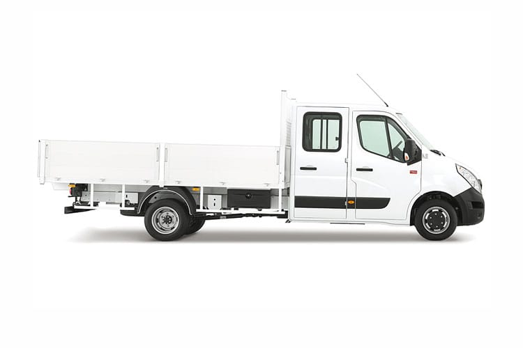 Renault Master LWB 35 RWD 2.3 dCi RWD 130PS Business Tipper Double Cab Manual [Aluminium] back view