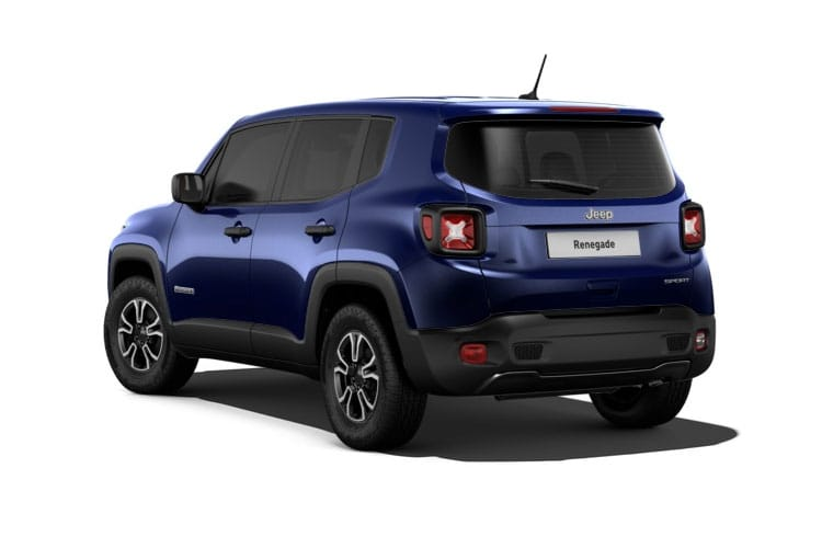 Jeep Renegade SUV 1.3 GSE T4 150PS Limited 5Dr DDCT [Start Stop] back view