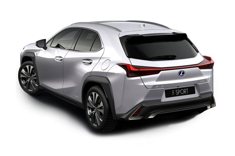 Lexus UX 250h SUV 2.0 h 184PS UX 5Dr E-CVT [Start Stop] [Prem Plus Tech Safety] back view
