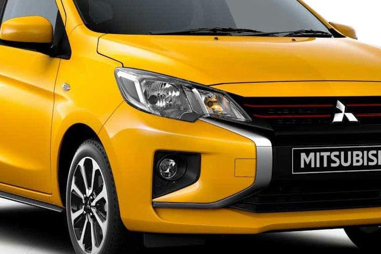 Mitsubishi Mirage Hatch 5Dr 1.2  79PS Design 5Dr CVT [Start Stop] detail view