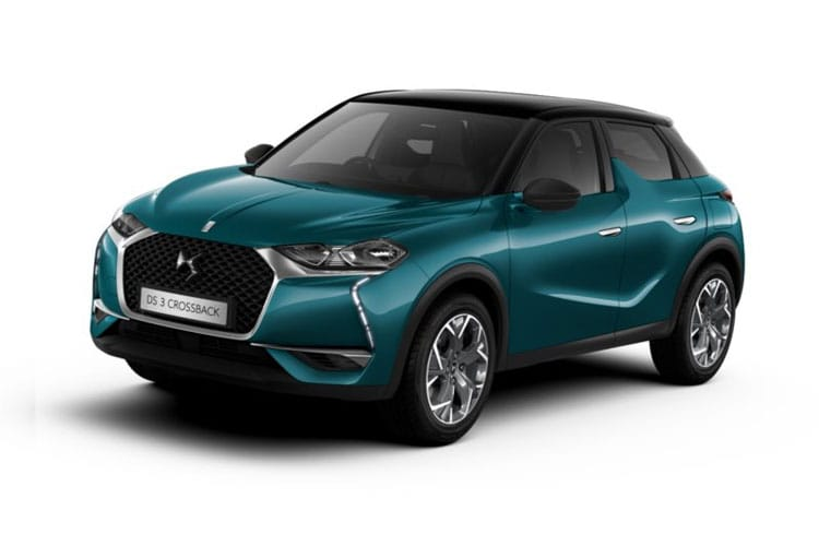 DS Automobiles DS 3 Crossback 5Dr 1.2 PureTech 130PS Performance Line 5Dr EAT8 [Start Stop] front view