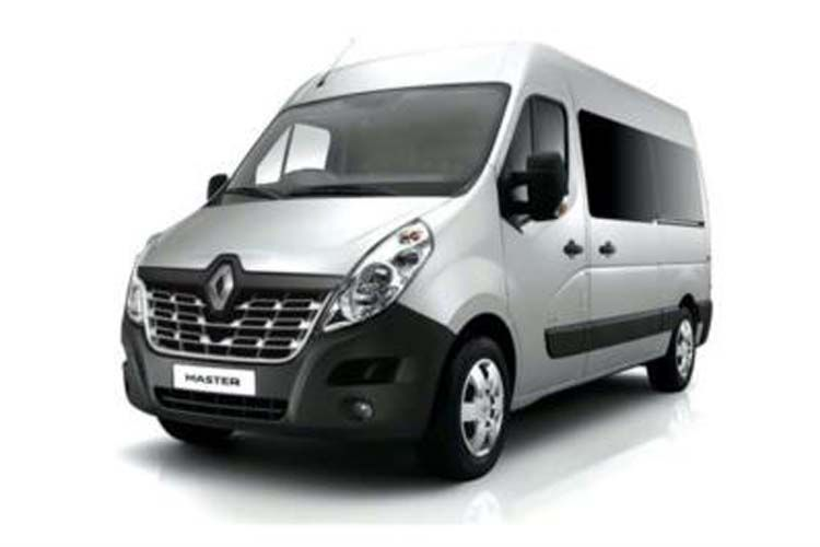 Renault Master SWB 28 FWD 2.3 dCi FWD 135PS Business Window Van Manual front view