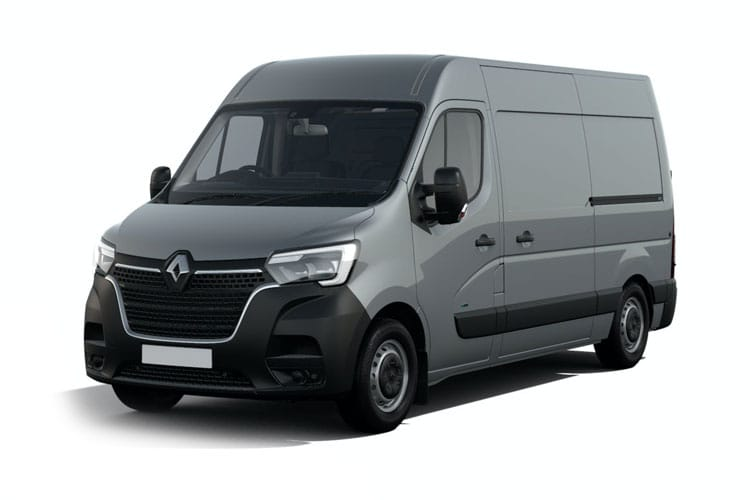 Renault Master SWB 35 FWD Elec 33kWh 57KW FWD 77PS i Business Van Medium Roof Auto front view