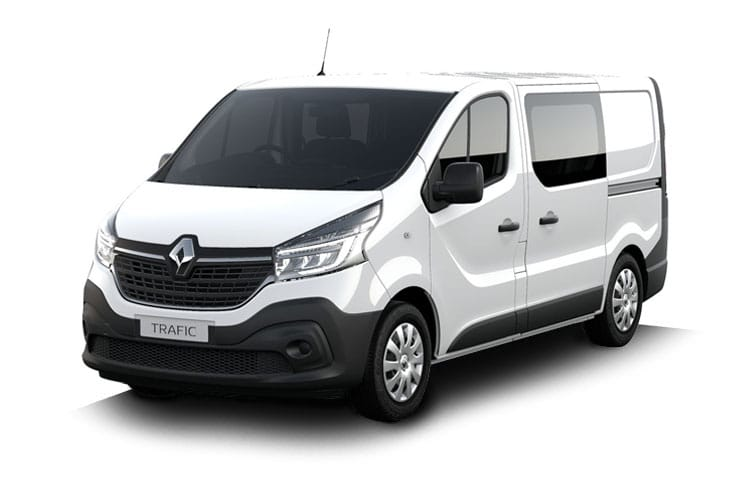 Renault Trafic 27 SWB 1.6 dCi ENERGY FWD 125PS Premier Edition Crew Van Manual [Start Stop] front view