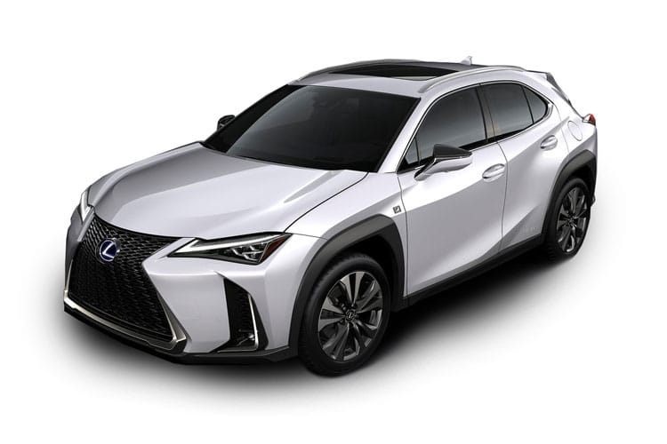 Lexus UX 250h SUV 2.0 h 184PS UX 5Dr E-CVT [Start Stop] [Prem Plus Tech Safety] front view