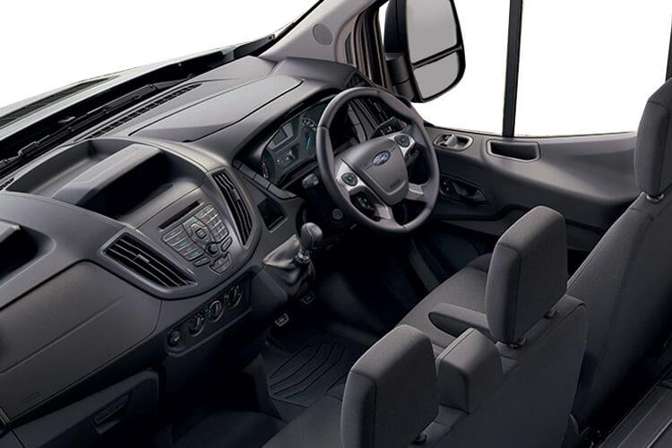 Ford Transit 350HD L4 RWD 2.0 EcoBlue DRW 170PS Leader Luton Auto [Start Stop] inside view