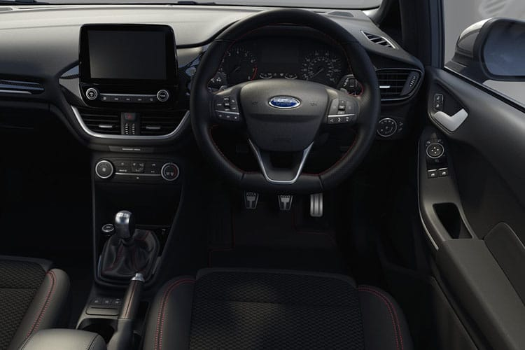 Ford Fiesta Hatch 5Dr 1.0 T EcoBoost MHEV 125PS Titanium X 5Dr DCT [Start Stop] inside view