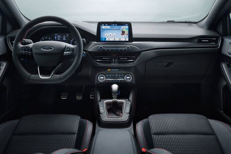 Ford Focus Estate 1.0 T EcoBoost 125PS Active X Edition 5Dr Auto [Start Stop] inside view