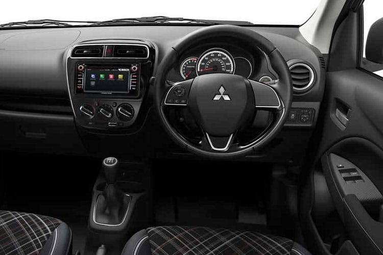Mitsubishi Mirage Hatch 5Dr 1.2  79PS Design 5Dr CVT [Start Stop] inside view