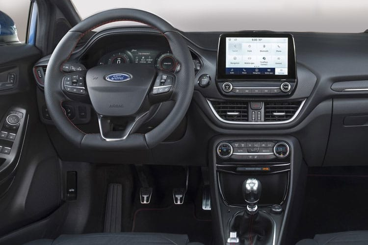 Ford Puma SUV 1.0 T EcoBoost MHEV 155PS ST-Line 5Dr Manual [Start Stop] inside view