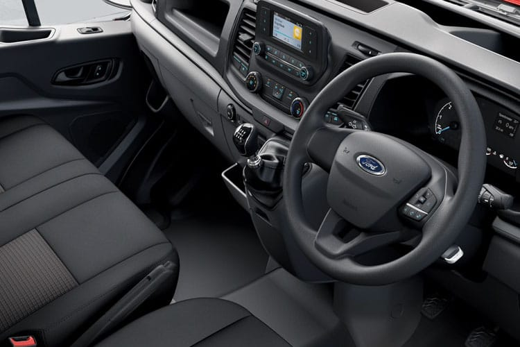 Ford Transit 350 L3 2.0 EcoBlue FWD 170PS Leader Chassis Cab Manual [Start Stop] inside view