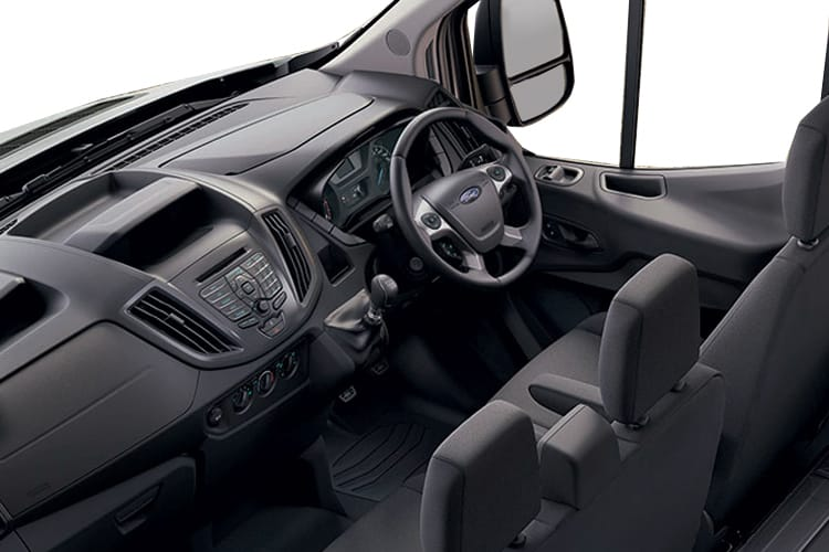Ford Transit 350 L2 RWD 2.0 EcoBlue RWD 170PS Leader Tipper Manual [Start Stop] [1Way 1Stop] inside view