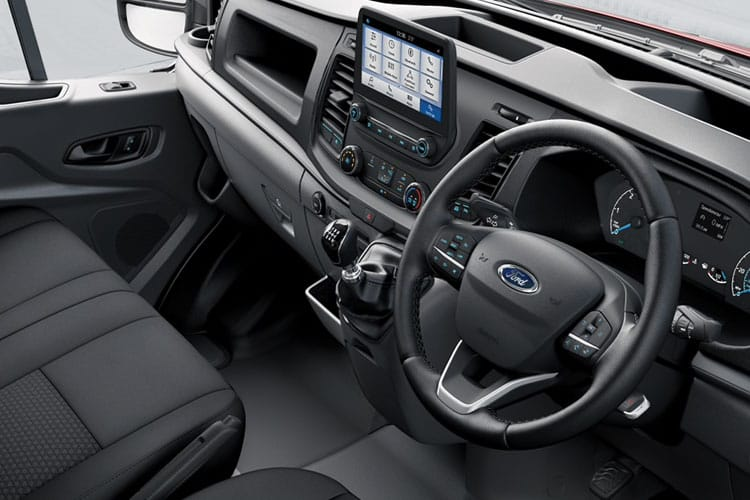 Ford Transit 350HD L2 2.0 EcoBlue FWD 160PS Limited Van High Roof Manual [Start Stop] inside view