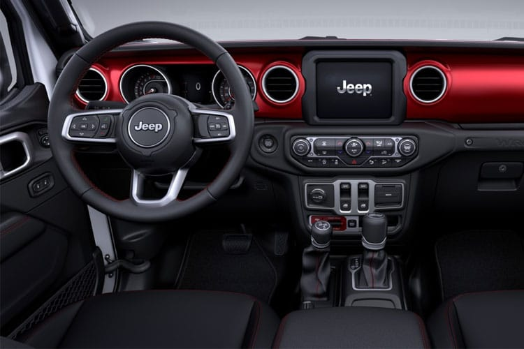 Jeep Wrangler SUV 4Dr 2.2 MultiJetII 200PS Rubicon 4Dr Auto [Start Stop] inside view
