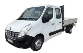 Renault Master Dropside Double Cab LWB 35 RWD 2.3 dCi ENERGY RWD 145PS Business Dropside Double Cab Manual [Start Stop]