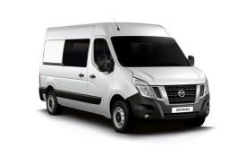 Nissan NV400 Crew Van L3 35 FWD 2.3 dCi FWD 135PS Tekna Crew Van Medium Roof Manual